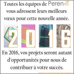 Voeux 2016 Peren-IT